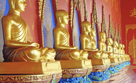 Buddhist statues (Zhou lecture series image)
